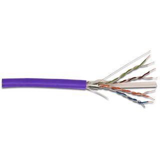 (€0,47*/1m) 305.00m Digitus Cat. 6 Verlegekabel U/UTP Violett halogenfrei / LSOH