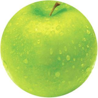 Fellowes GmbH Maus Pad BRITE, Motiv: Apfel, rund