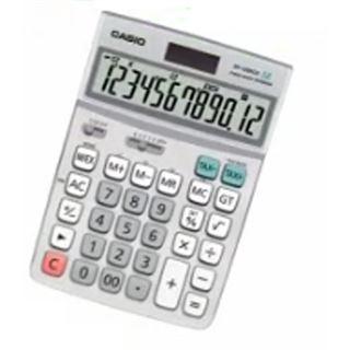Casio Computer Tischrechner DF-120 ECO, Solar-/ Batteriebetrieb