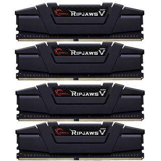 64GB G.Skill RipJaws V schwarz DDR4-3000 DIMM CL14 Quad Kit