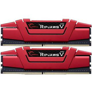 16GB G.Skill RipJaws V rot DDR4-2800 DIMM CL16 Dual Kit