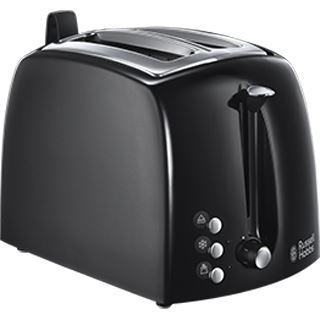 """Russell Hobbs Toaster """"Textures Plus"""" 22601-56, schwarz"""