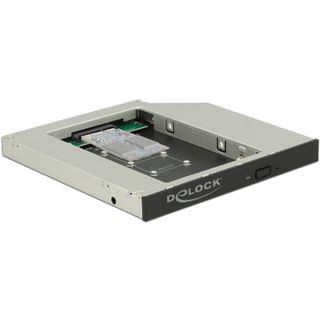 DeLOCK Einbaurahmen Slim SATA 5Œ für 1 x mSATA SSD