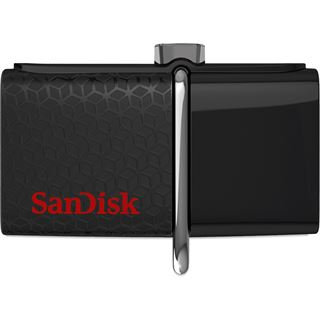 128 GB SanDisk Ultra Dual schwarz USB 3.0