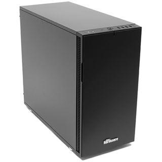 Fractal Define R5 PCGH-Edition gedämmt Midi Tower ohne Netzteil schwarz