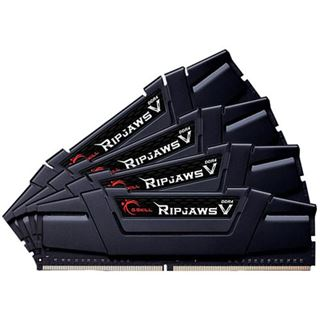 32GB G.Skill RipJaws V schwarz DDR4-3333 DIMM CL16 Quad Kit