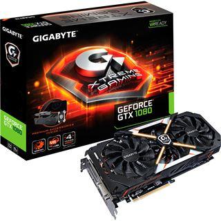 8192MB Gigabyte GeForce GTX 1080 Xtreme Gaming Premium Pack Aktiv PCIe 3.0 x16 (Retail)