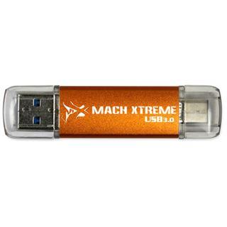 64 GB Mach Xtreme Technology Barium Series orange USB 3.0 und Typ C
