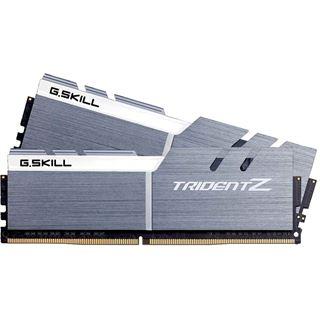 16GB G.Skill Trident Z silber/weiß DDR4-3200 DIMM CL16 Dual Kit