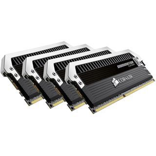 32GB Corsair Dominator Platinum DDR4-3000 DIMM CL15 Quad Kit