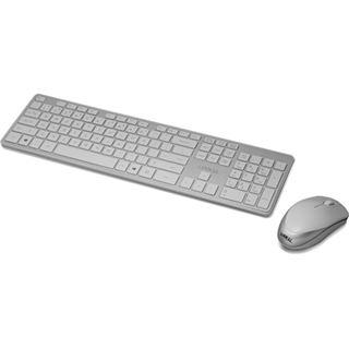 Lian Li KM-01WSV Maus/Tastatur Combo wireless silber