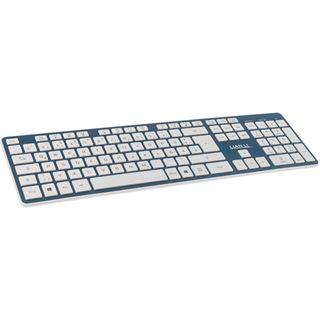 Lian Li KB-01WBU Bluetooth Tastatur blau