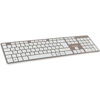 Lian Li KB-01WGD Bluetooth Tastatur gold
