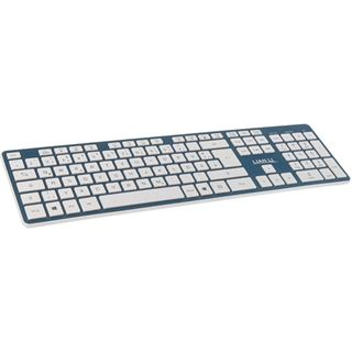 Lian Li KB-01WBU Bluetooth Tastatur blau (FR)