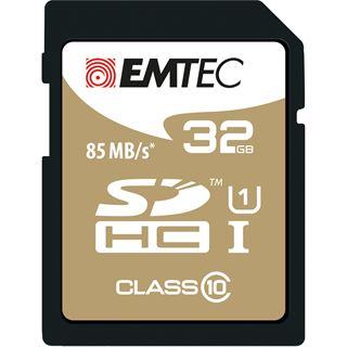 32 GB EMTEC Gold+ SDHC Class 10 U1 Retail