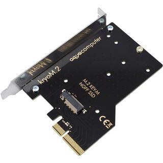 aqua computer kryoM.2 PCIe 3.0 x4 M.2-SSD-Adapterkarte