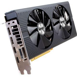 4096MB Sapphire Radeon RX 480 Nitro+ Aktiv PCIe 3.0 x16 (Lite Retail)