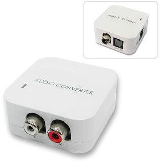 Audiokonverter Lindy digital/analog SPDIF Kuper/Toslink-analog