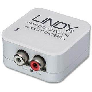 Audiokonverter Lindy analog > digital analog Stereo > RCA/Toslink