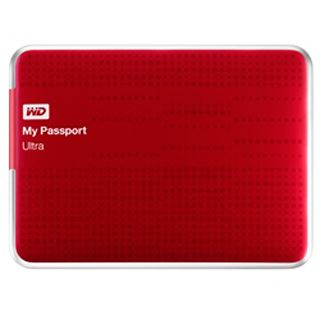 "4000GB WD My Passport Ultra 2015 WDBBKD0040BBY-EESN 2.5"" (6.4cm) USB 3.0 rot"