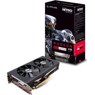 8192MB Sapphire Radeon RX 470 Nitro+ Aktiv PCIe 3.0 x16 (Retail)
