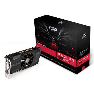 4GB XFX Radeon RX 470 Aktiv PCIe 3.0 x16 (Retail)