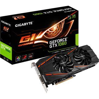 3GB Gigabyte GeForce GTX 1060 Gaming G1 Aktiv PCIe 3.0 x16 (Retail)