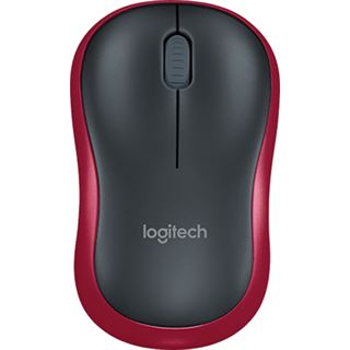 Logitech M185 Wirless Mouse USB2.0 rot