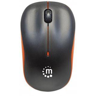 Manhattan Wireless Maus Success optisch 1000dpi orange