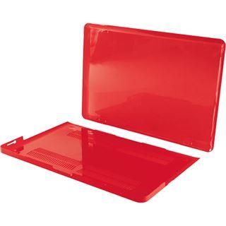 """LogiLink Schutzhülle für 15"""" MacBook Pro Retina, kirschrot"""