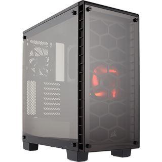 Corsair Crystal Series 460X mit Sichtfenster Midi Tower ohne Netzteil schwarz