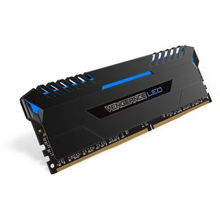 32GB Corsair Vengeance LED blau DDR4-3200 DIMM CL16 Dual Kit