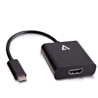 V7 USB-C auf HDMI ADAPTER BLACK