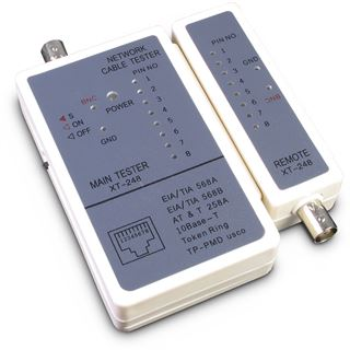 Inter-Tech IPC Network Kabeltester, RJ45, RJ11, Koaxial