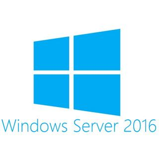 Microsoft Windows Server 2016 Datacenter x64 1pk DSP 16 Core dt.DVD