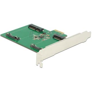 PCI Delock Express Card 2x mSATA Slot int