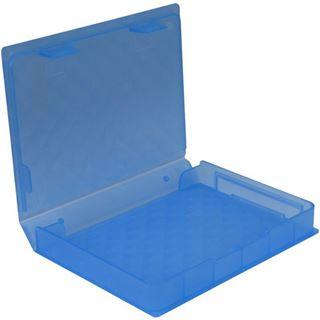 "Inter-Tech AC Schutz-Box 1x 2,5"" Kunststoff Blau"