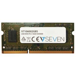 2GB V7 V7106002GBS DDR3-1333 SO-DIMM CL9 Single