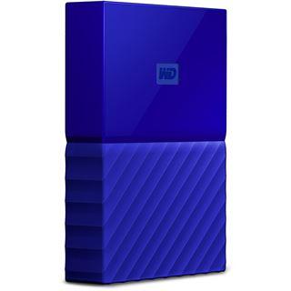 "2000GB WD My Passport WDBYFT0020BBL-WESN 2.5"" (6.4cm) USB 2.0 / USB 3.0 blau"