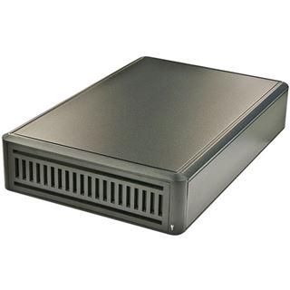"""Lindy USB 3.0 SATA/IDE 5,25"""" Laufwerksgehäuse schwarz"""