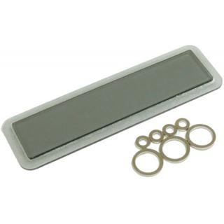 Aquacomputer Displayglas grau getönt für aquaero 4.00 (Umrüstsatz)