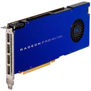 8GB AMD Radeon Pro WX 7100 Aktiv PCIe 3.0 (Retail)