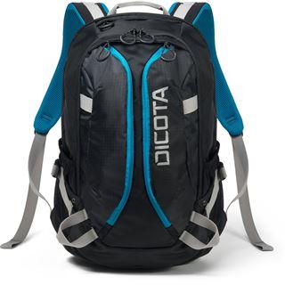"Dicota Backpack Active 15-17.3"" black/blue"