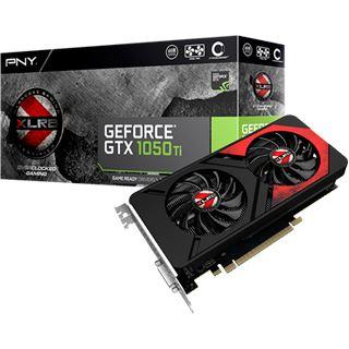 4GB PNY GeForce GTX 1050 Ti XLR8 OC