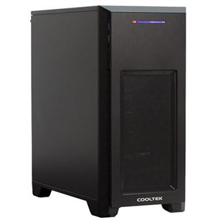 Cooltek MT-03 Mini Tower schwarz USB 3.0