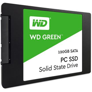 "120GB WD Green 2.5"" (6.4cm) SATA 6Gb/s TLC Toggle (WDS120G1G0A)"