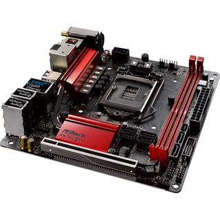 ASRock Fatal1ty Z270 Gaming-ITX/ac Intel Z270 So.1151 Dual Channel DDR Mini-ITX Retail
