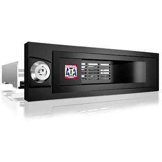 """ICY BOX 5,25"""" Wechselrahmen für 3.5"""" Festplatten (IB-168SK-B)"""
