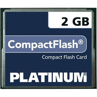2 GB Platinum BestMedia Compact Flash TypI 40x Retail