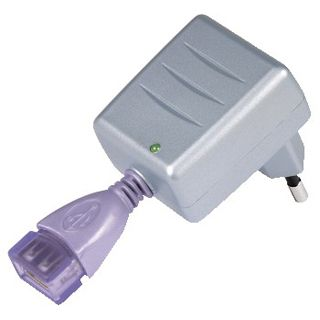 Hama MP3-Reise-Ladegerät mit USB-Buchse